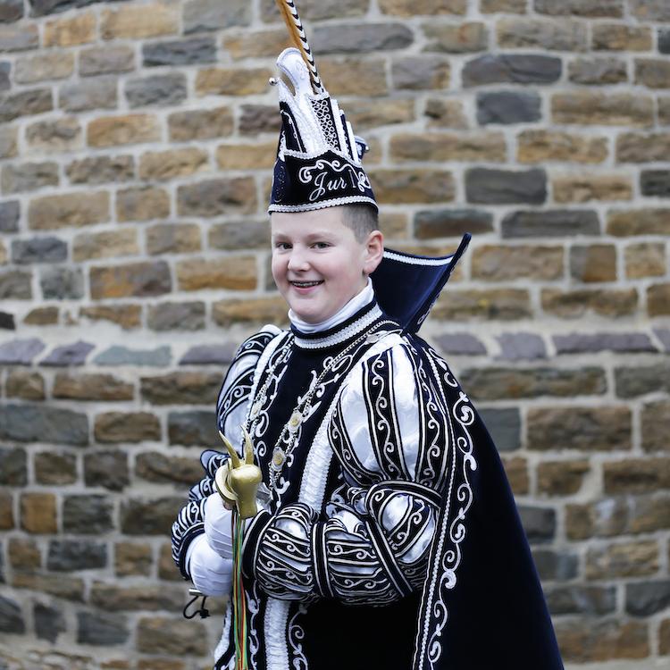 Prins van de geitenbok 2019 jeugdprins van de geitenbok 2019 thorn, prins jur, prins Jos