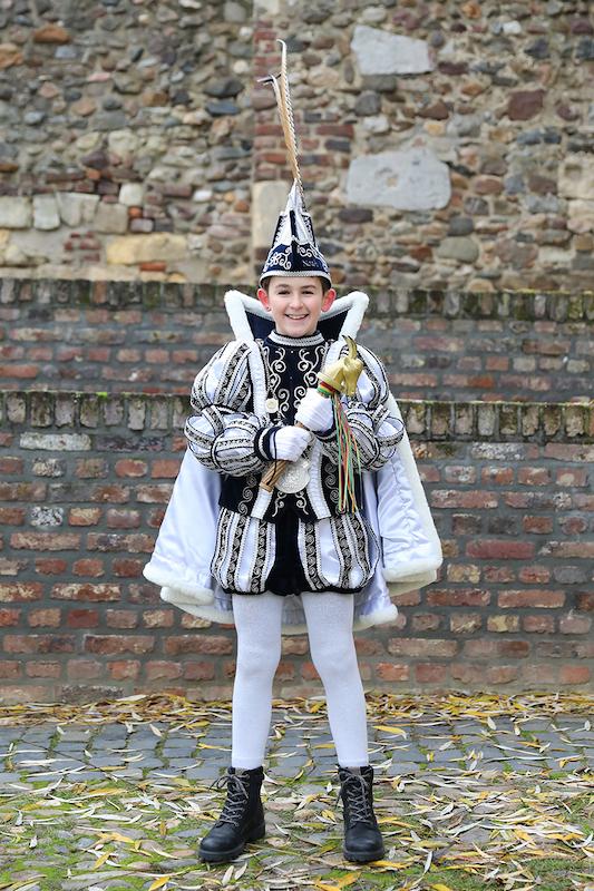 jeugdprins Noah lamsriks, prins Albert van der leeuwen, mark salemans, johan Munnecom